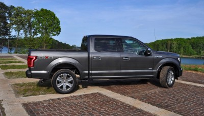 2015 Ford F-150 Platinum 4x4 Supercrew Review 61