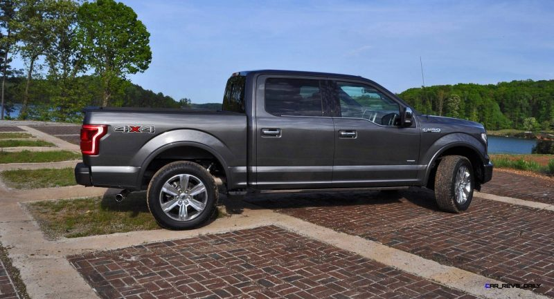2015 Ford F-150 Platinum 4x4 Supercrew Review 62