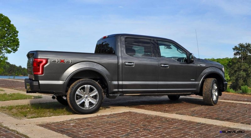 2015 Ford F-150 Platinum 4x4 Supercrew Review 63