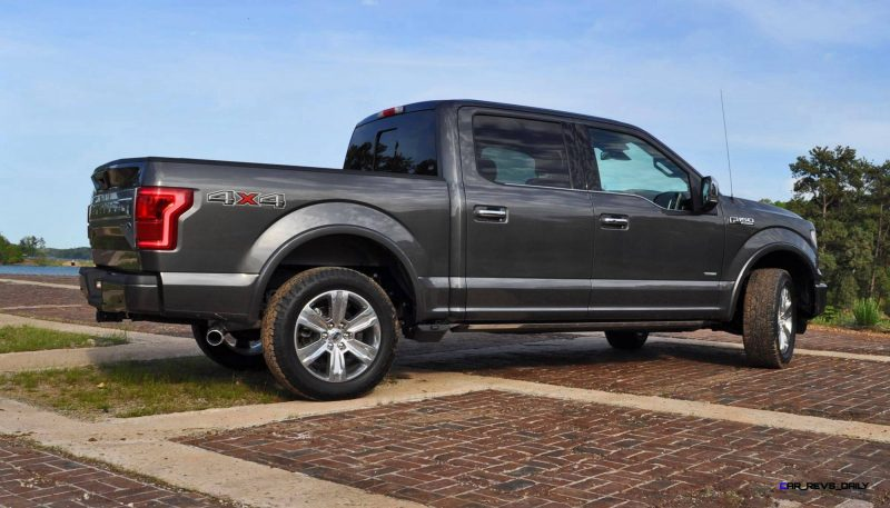 2015 Ford F-150 Platinum 4x4 Supercrew Review 65