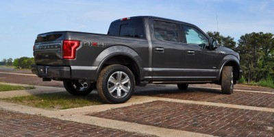 2015 Ford F-150 Platinum 4x4 Supercrew Review 67