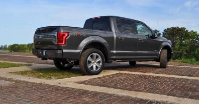 2015 Ford F-150 Platinum 4x4 Supercrew Review 68