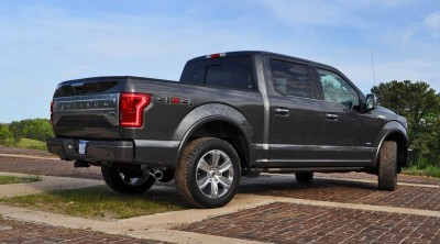 2015 Ford F-150 Platinum 4x4 Supercrew Review 69