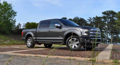 2015 Ford F-150 Platinum 4x4 Supercrew Review 7