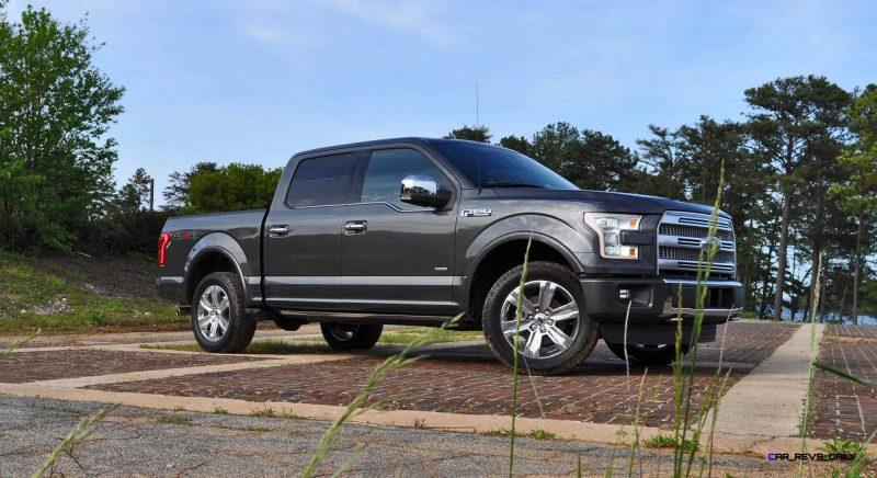 2015 Ford F-150 Platinum 4x4 Supercrew Review 7
