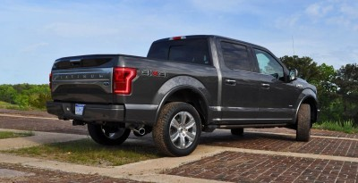2015 Ford F-150 Platinum 4x4 Supercrew Review 70