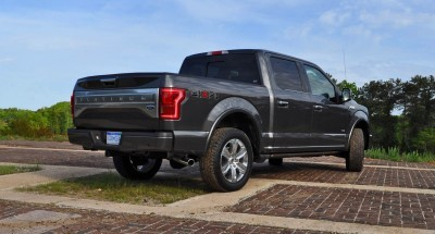 2015 Ford F-150 Platinum 4x4 Supercrew Review 71