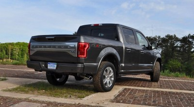 2015 Ford F-150 Platinum 4x4 Supercrew Review 72