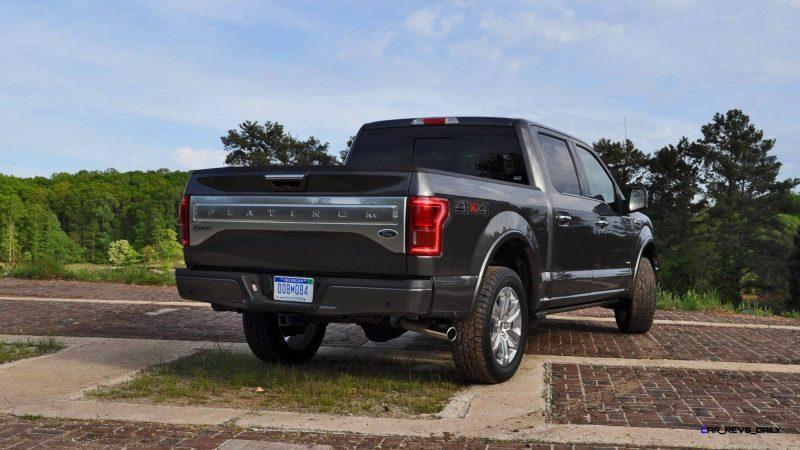 2015 Ford F-150 Platinum 4x4 Supercrew Review 74