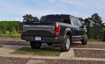 2015 Ford F-150 Platinum 4x4 Supercrew Review 75