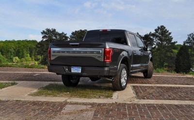 2015 Ford F-150 Platinum 4x4 Supercrew Review 76