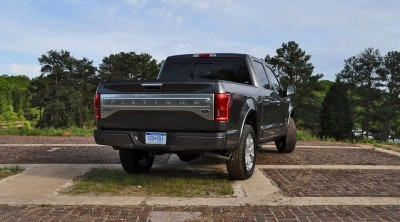 2015 Ford F-150 Platinum 4x4 Supercrew Review 78