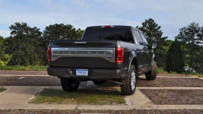 2015 Ford F-150 Platinum 4x4 Supercrew Review 79