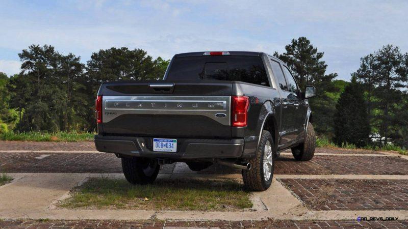 2015 Ford F-150 Platinum 4x4 Supercrew Review 79