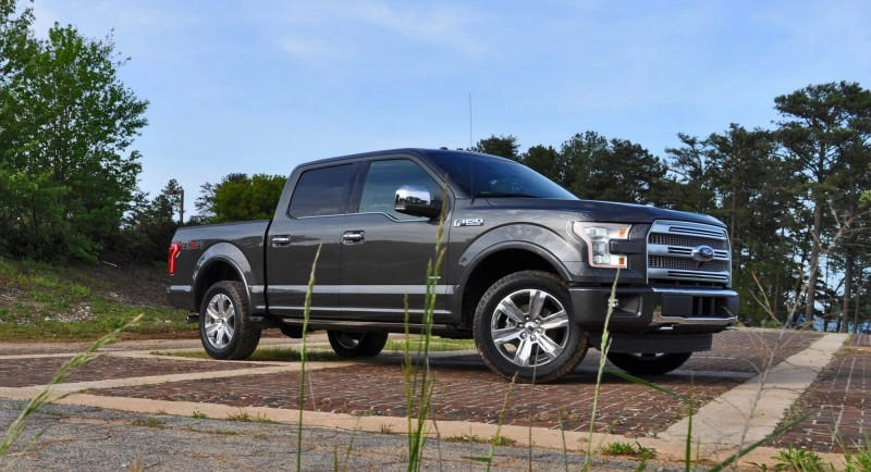 2015 Ford F-150 Platinum 4x4 Supercrew Review 8