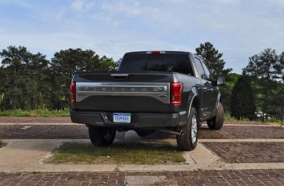 2015 Ford F-150 Platinum 4x4 Supercrew Review 80