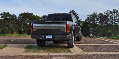 2015 Ford F-150 Platinum 4x4 Supercrew Review 81