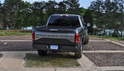 2015 Ford F-150 Platinum 4x4 Supercrew Review 82