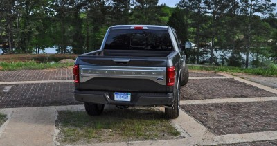 2015 Ford F-150 Platinum 4x4 Supercrew Review 83