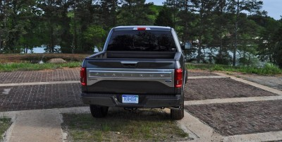 2015 Ford F-150 Platinum 4x4 Supercrew Review 84