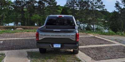 2015 Ford F-150 Platinum 4x4 Supercrew Review 85