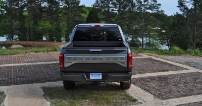 2015 Ford F-150 Platinum 4x4 Supercrew Review 86