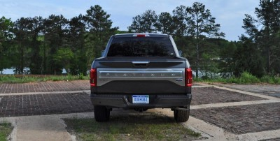 2015 Ford F-150 Platinum 4x4 Supercrew Review 88