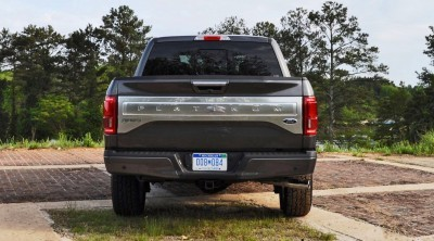 2015 Ford F-150 Platinum 4x4 Supercrew Review 89