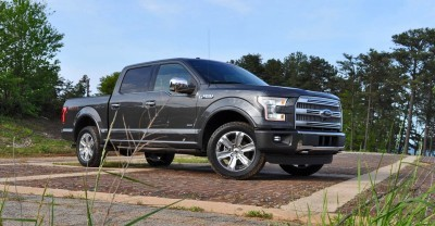 2015 Ford F-150 Platinum 4x4 Supercrew Review 9