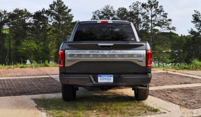 2015 Ford F-150 Platinum 4x4 Supercrew Review 91