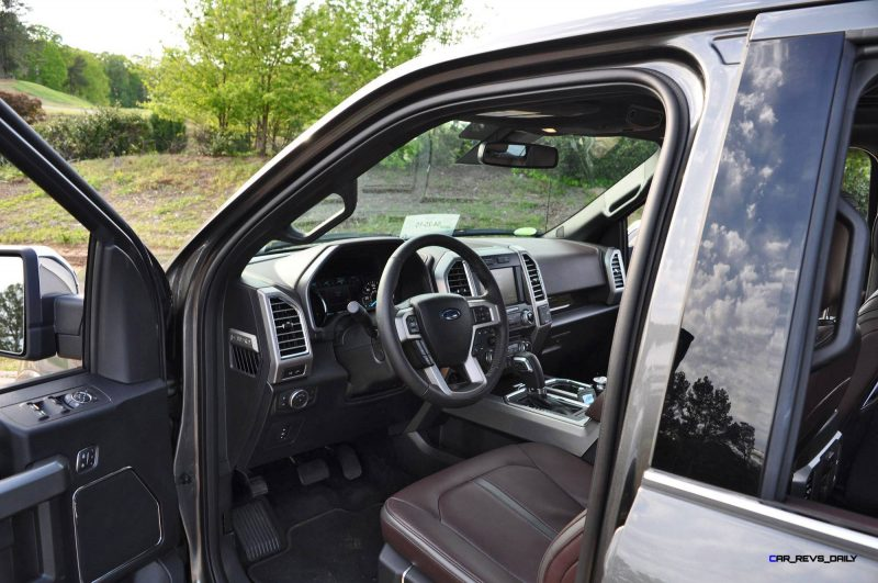 2015 Ford F-150 Platinum 4x4 Supercrew Review 94
