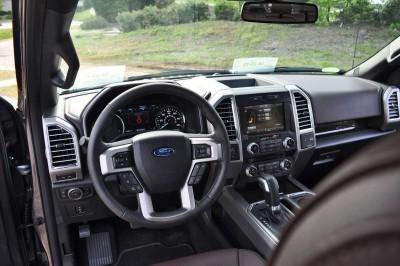 2015 Ford F-150 Platinum 4x4 Supercrew Review 95