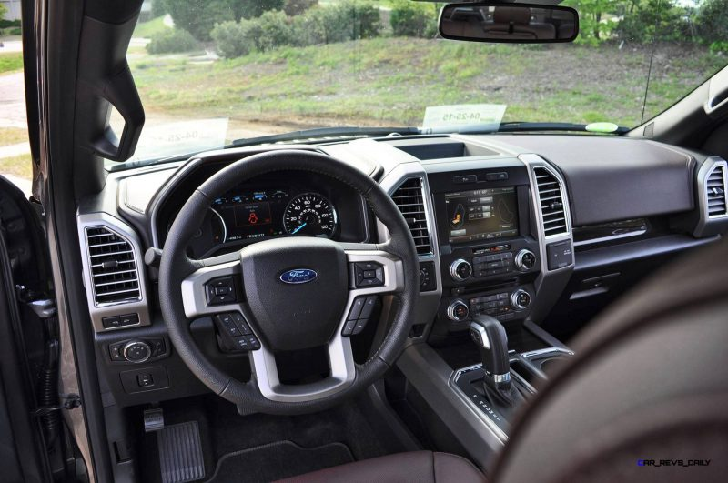 2015 Ford F-150 Platinum 4x4 Supercrew Review 95
