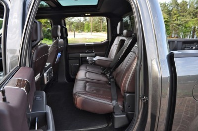 2015 Ford F-150 Platinum 4x4 Supercrew Review 97