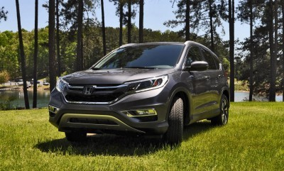 2015 Honda CR-V Touring AWD Review 1