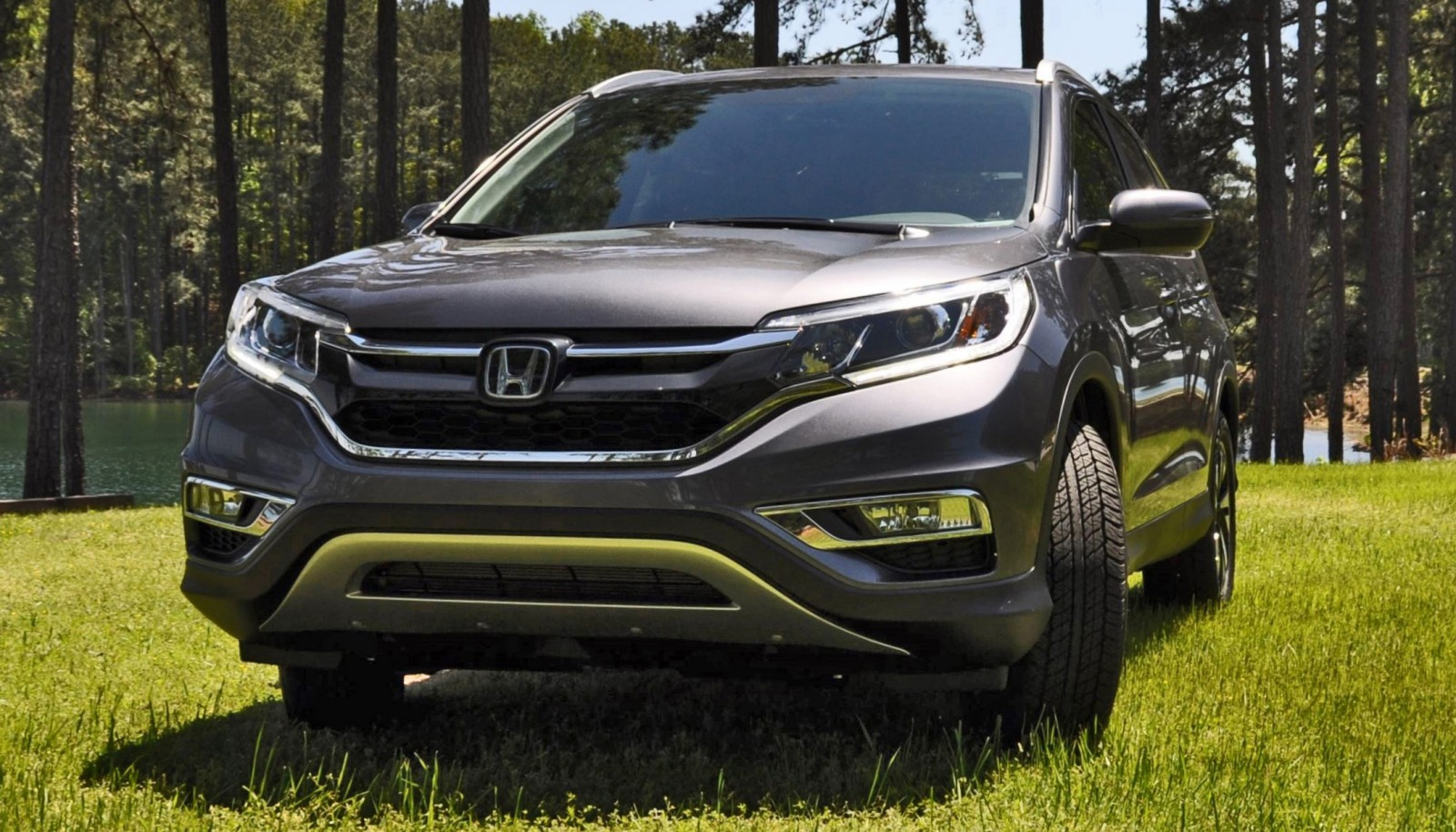road test review 2015 honda cr v touring awd is stylish top trim. Black Bedroom Furniture Sets. Home Design Ideas