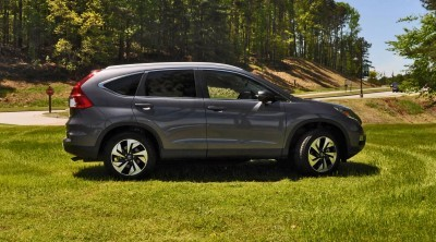 2015 Honda CR-V Touring AWD Review 44
