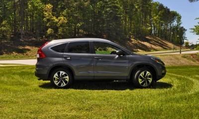 2015 Honda CR-V Touring AWD Review 45