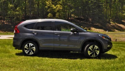 2015 Honda CR-V Touring AWD Review 46