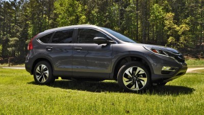 2015 Honda CR-V Touring AWD Review 47