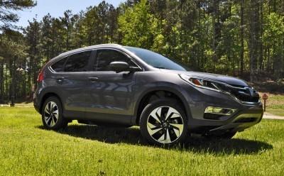 2015 Honda CR-V Touring AWD Review 48