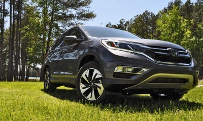 2015 Honda CR-V Touring AWD Review 52