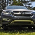 Road Test Review - 2015 Honda CR-V Touring AWD is Stylish Top Trim