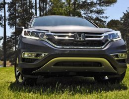 Road Test Review – 2015 Honda CR-V Touring AWD is Stylish Top Trim