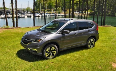 2015 Honda CR-V Touring AWD Review 61