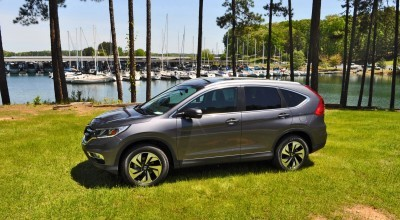 2015 Honda CR-V Touring AWD Review 62