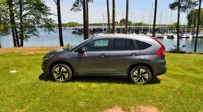 2015 Honda CR-V Touring AWD Review 65