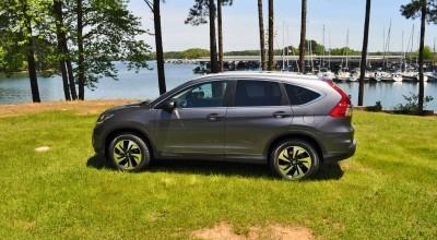 2015 Honda CR-V Touring AWD Review 66