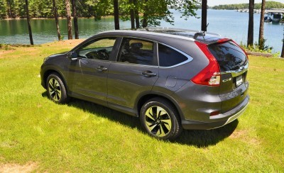 2015 Honda CR-V Touring AWD Review 67