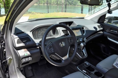 2015 Honda CR-V Touring AWD Review 72